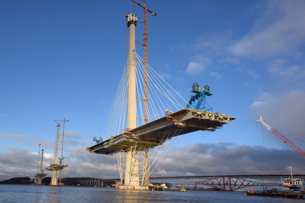 Forth Road Bridge Traffic >> Forth Replacement Crossing (The Queensferry Crossing) - American Bridge