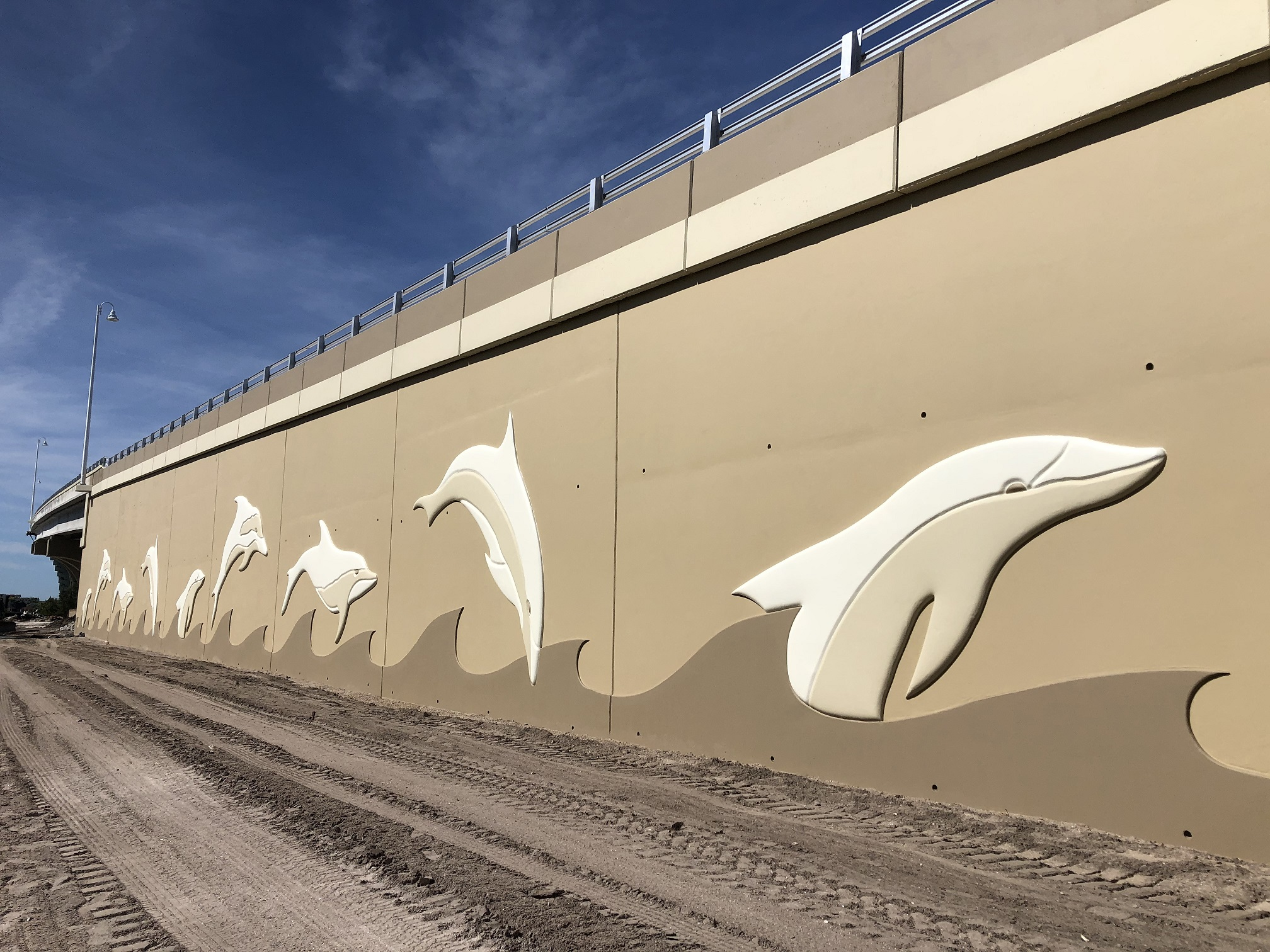 Bayway Dolphin Walls