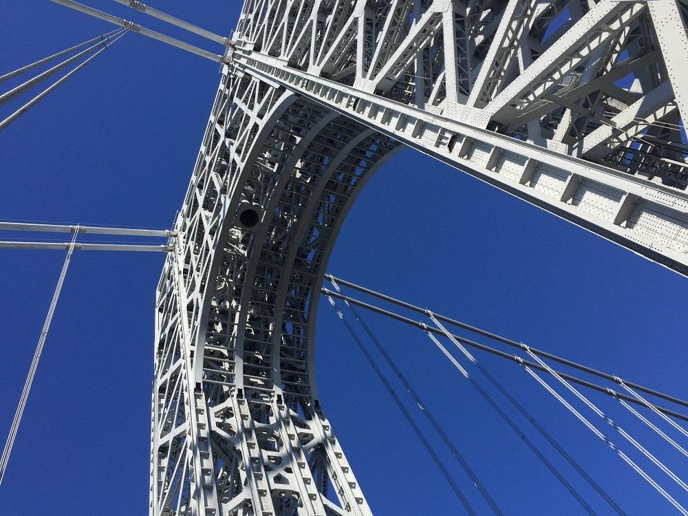George Washington Bridge Span Upper Level Structural Steel