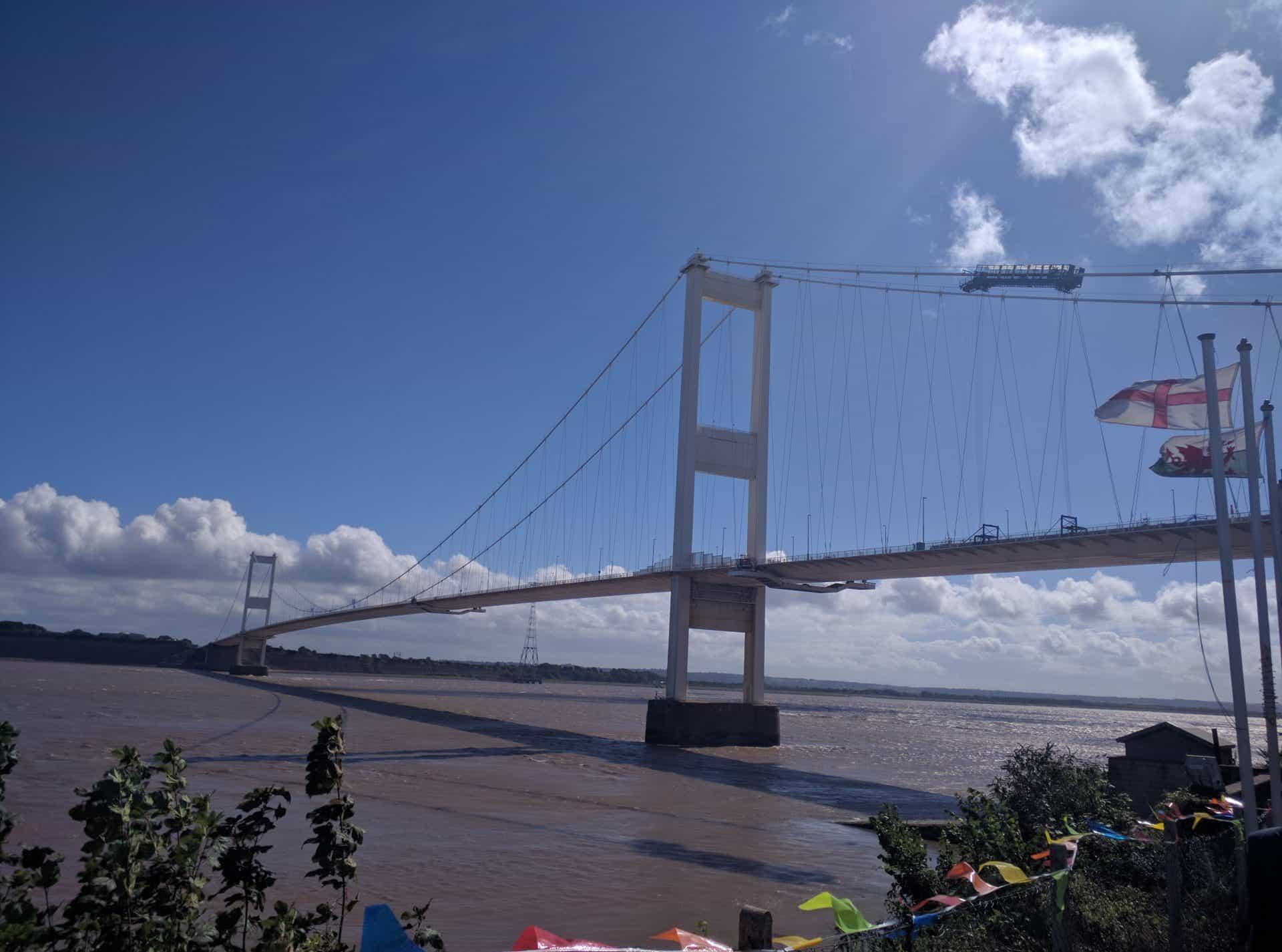 M48 Severn Bridge Main Cable Inspection American Bridge